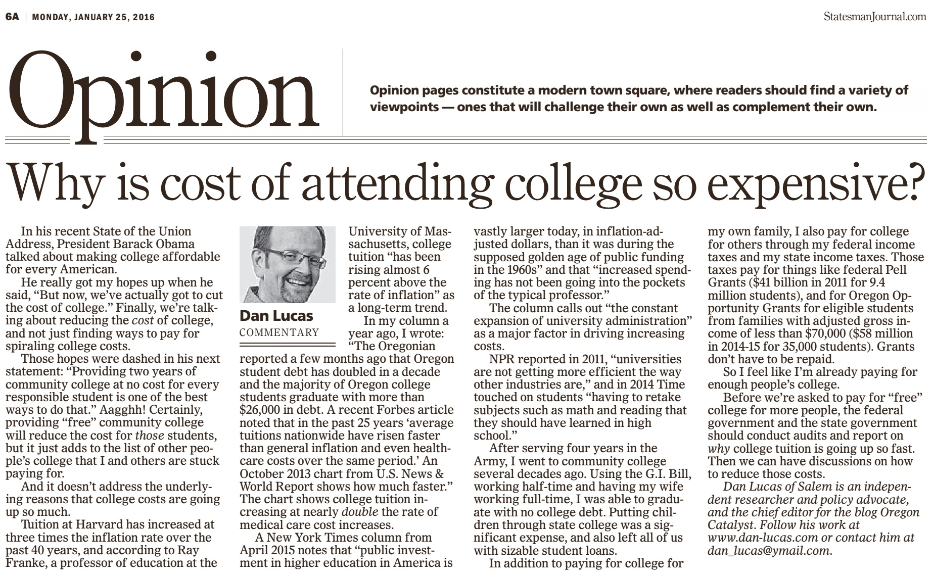 why college is so expensive essay In february 1970, with the school's storied quadrangle by the charles river still in the grip of winter, harvard university broke the bad news to students and their parents: tuition was going up.